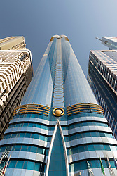The Rose Rayhaan by Rotana the second tallest hotel in the world in Dubai United Arab Emirates