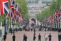 LONDON - JUNE 05: The Queen's Diamond Jubilee, The Mall, London, UK. June 05, 2012. (Photo by Richard Goldschmidt)