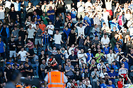 Goal celebration by Rochdale fans during the EFL Sky Bet League 1 match between Rochdale and Charlton Athletic at Spotland, Rochdale, England on 5 May 2018. Picture by Paul Thompson.