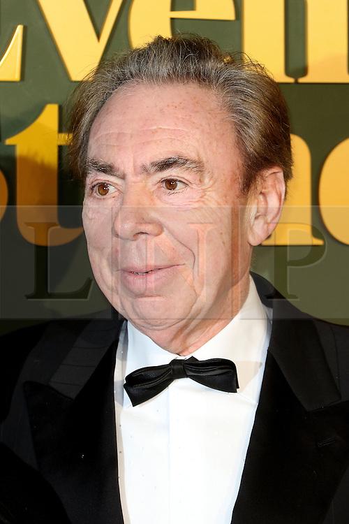 © Licensed to London News Pictures. 13/11/2016. London, UK, Andrew Lloyd Webber, Evening Standard Theatre Awards, Photo credit: Richard Goldschmidt/LNP