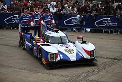 June 10, 2018 - Le Mans, FRANCE - 35 SMP RACING (RUS) DALLARA P217 GIBSON VICTOR SHAITAR (RUS) HARRISON NEWEY (GBR) NOMAN NATO  (Credit Image: © Panoramic via ZUMA Press)