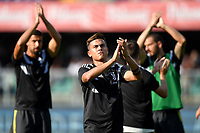 Paulo Dybala Juventus waves the fans <br /> Verona 18-08-2018 Stadio Bentegodi Football Calcio Serie A 2018/2019 Chievo Verona - Juventus Foto Andrea Staccioli / Insidefoto