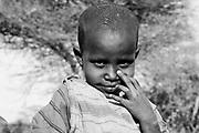TANZANIA. Oltepes (Maasai Village). .Longido Mountain Area..August 3rd 2009.