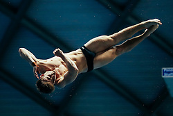 Jack Haslam from City of Sheffield Diving Club competes in the Mens 3m Springboard Final - Mandatory byline: Rogan Thomson/JMP - 11/06/2016 - DIVING - Ponds Forge - Sheffield, England - British Diving Championships 2016 Day 2.