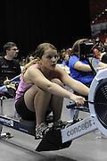 Birmingham, Great Britain, J12. Ella PIGOTT competing at the 2008 British Indoor Rowing Championships, National Indoor Arena. on  Sunday 26.10.2008 . [Photo, Peter Spurrier/Intersport-images]