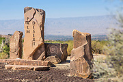 City of Palm Desert Flagstone Markers