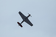 P-51 Mustang, of Erickson Aircraft Collection performing at Airshow of the Cascades.
