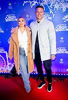Olivia Buckland and Alex Bowen at the  Hyde Park Winter Wonderland launch, London, UK - 20 Nov 2019