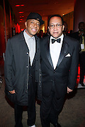 l to r: Russell Simmons and Dr. Ben Chavis at The HipHop Inagual Ball Hennesey Lounge held at The Harman Center for the Arts in Washington, DC on January 19, 2009..The first ever Hip-Hop Inaugural Ball, a black tie charity gala, benefiting the Hip-Hop Summit Action Network. The Ball will kick off with a star-studded red carpet presentations of the National GOTV Awards, recognizing artists who have made outstanding contributions to the largest young adult voter turnout in American history.