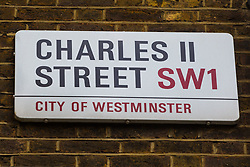 Royal Mail - Charles II Street, St James. London, April 25 2018.
