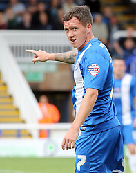 Peterborough United's Danny Swanson  - Photo mandatory by-line: Joe Dent/JMP - Tel: Mobile: 07966 386802 17/08/2013 - SPORT - FOOTBALL - London Road Stadium - Peterborough -  Peterborough United V Oldham Athletic - Sky Bet League One