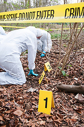 Forensic science students at Lincoln University