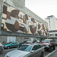 Fasaden på tidligere Agder Teater i Kristiansand.