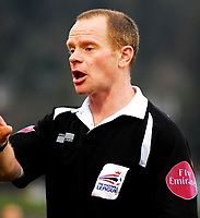 Photo: Alan Crowhurst.<br />Brighton & Hove Albion v Nottingham Forest. Coca Cola League 1. 17/02/2007. Referee Andy Woolmer.