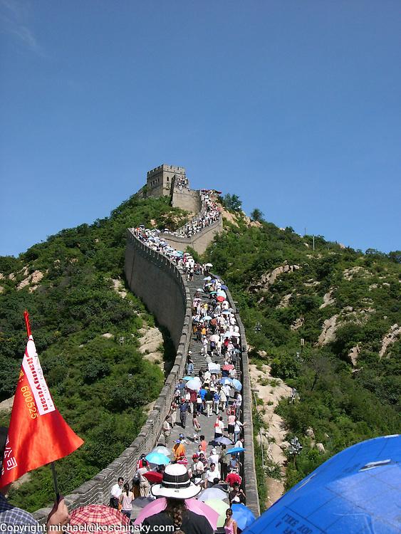 Hero Point at the Great Wall near Badaling, Summer