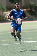 HONG KONG,HONG KONG SAR,CHINA:April 5th 2018. Hong Kong 7's Rugby. Joe Ravouvou in action in training.<br /> Picture by Jayne Russell / www.PhotoSport.nz