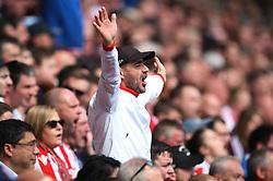 Stoke City fans - Mandatory by-line: Jack Phillips/JMP - 22/04/2018 - FOOTBALL - Bet365 Stadium - Stoke-on-Trent, England - Stoke City v Burnley - English Premier League