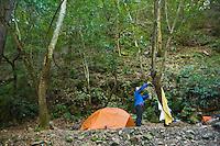 Sykes Hot Springs campground , Big Sur, California.