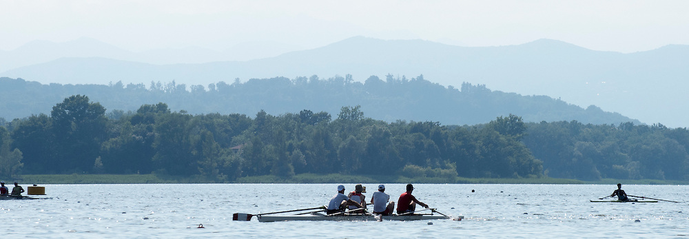 Varese. ITALY.  General View of the lake.   2015 FISA World Cup II Venue Lake Varese. Wednesday  17/06/2015 [Mandatory Credit: Peter Spurrier/Intersport images]
