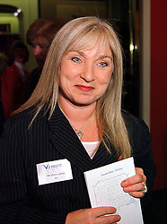 Comedienne HELEN LEDERER at a luncheon in London on 11th October 1999.<br /> MXJ 45