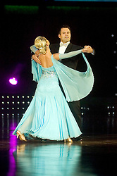 Cherie Lunghi and James Jordan dance during the Strictly Come Dancing live show at Sheffield Arena 29 January 2009 © Paul David Drabble