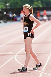 Samsung Diamond League adidas Grand Prix track & field; Dream Mile, High School Girls, Haley Pierce