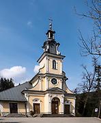"""Kościół Rektoralny Matki Bożej Nieustającej Pomocy na """"Górce"""". Zakopane"""