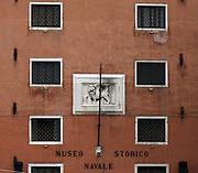 building on the Riva degli Schiavoni is a wide promenade along the waterfront in Venice, Italy.
