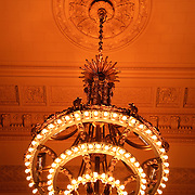 Chandeliers in Grand Central Station