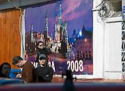 Strassenszene im Zentrum der russischen Hauptstadt Moskau.<br /> <br /> Streetscene in the center of the Russian capitol Moscow.