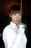 Kay Sze is BC's epee fencing championship and silver medallist at nationals.<br /> Photos: Lisa King/NOW