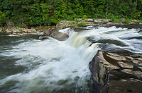 Ohiopyle Falls of the Youghiogheny River. Ohiopyle State Park, Pennsylvania