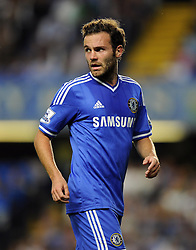 "Chelsea's Juan Mata  - Photo mandatory by-line: Joe Meredith/JMP - Tel: Mobile: 07966 386802 21/08/2013 - SPORT - FOOTBALL - Stamford Bridge - London - Chelsea V Aston Villa - Barclays Premier League - EDITORIAL USE ONLY. No use with unauthorised audio, video, data, fixture lists, club/league logos or ""live"" services. Online in-match use limited to 45 images, no video emulation. No use in betting, games or single club/league/player publications"