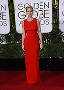 JENNIFER LAWRENCE @ the 73rd Annual Golden Globe awards held @ the Beverly Hilton hotel.<br /> ©Exclusivepix Media