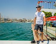 Pierre Casiraghi at the 36th Copa del Rey Mapfre Sailing Cup, Palma de Mallorca 31-07-2017