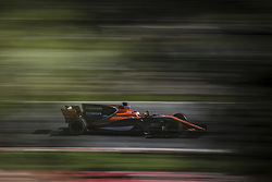 March 7, 2017 - STOFFEL VANDOORNE (BEL) drives on the track in his McLaren-Honda MCL32 during day 5 of Formula One testing at Circuit de Catalunya (Credit Image: © Matthias Oesterle via ZUMA Wire)