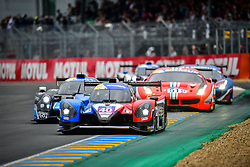 June 14, 2018 - Le Mans, FRANCE - 40 GRAFF (FRA) NORMA M30 NISSAN ADRIEN CHILA (FRA) MARC ANTOINE DANNIELOU  (Credit Image: © Panoramic via ZUMA Press)