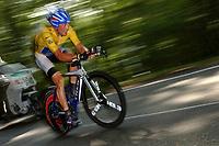 Sykkel<br /> Tour de France 2004<br /> Foto: Dppi/ Digitalsport<br /> NORWAY ONLY<br /> <br /> CYCLING - TOUR DE FRANCE 2004<br /> STAGE 19 - BESANCON > BESANCON<br /> INDIVIDUAL TIME TRIAL<br /> 24/07/2004<br /> <br /> LANCE ARMSTRONG (USA) / US POSTAL - WINNER