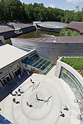 Exterior of Crystal Bridges Museum of American Art on Sunday, June 9, 2013, in Bentonville, Ark.