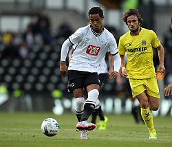 Derby County's Tom Ince on the ball - Mandatory by-line: Robbie Stephenson/JMP - 07966386802 - 29/07/2015 - SPORT - FOOTBALL - Derby,England - iPro Stadium - Derby County v Villarreal CF - Pre-Season Friendly