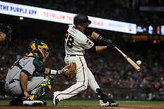 20190813 - Oakland Athletics at San Francisco Giants