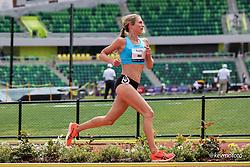 USATF Grand Prix track and field meet<br /> April 24, 2021 Eugene, Oregon, USA<br /> womens 5000, asics