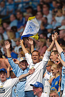 Fotball<br /> Leeds United v Derby County<br /> Coca Cola Championship<br /> 07/08/2004<br /> Foto: SBI/Digitalsport<br /> NORWAY ONLY<br /> <br /> Leeds fans show that they still have something to shout about after relegation.