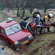 Ongeval met beknelling Crailoseweg Huizen