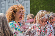 Alex Kingston - The Chelsea Flower Show organised by the Royal Horticultural Society with M&G as its MAIN sponsor for the final year.