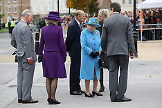 Dorset -The Queen And Royal Family Members Visit Poundbury - 27 Oct 2016