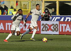 February 24, 2019 - Bologna, Italy - Alex Sandro during Serie A 2018-2019 match between Bologna v Juventus, in Bologna, on February 24, 2019  (Credit Image: © Loris Roselli/NurPhoto via ZUMA Press)