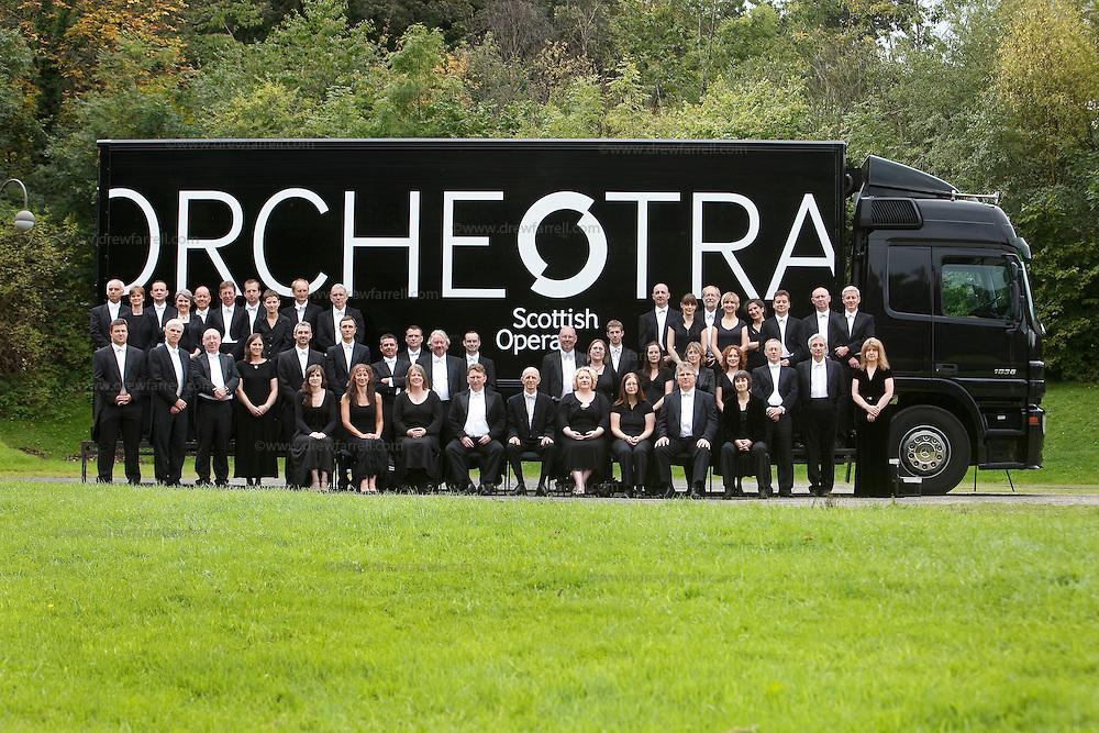Picture shows : Scottish Opera Orchestra.. September 2009..Picture Drew Farrell..Tel 07721-735041.