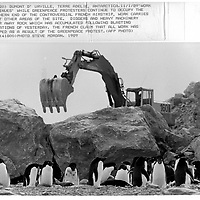 Greenpeace Antarctic Campaign 88-89 WIRE PHOTOS
