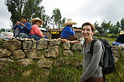 Exploring the Inca and Spanish colonial city of Cajamarca, Peru